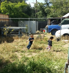 Kids should always be in the yard playin