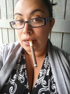 Women can smoke cigars too ya know