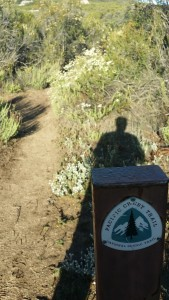 Pacific Crest Trail - a reminder you are where you are supposed to be