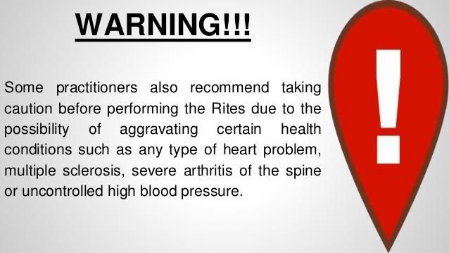 Five Rites Warning