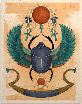 Scarab Egyptian Art