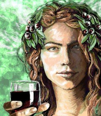 The Dionysian Spirit by Janice Duke Deviant Art