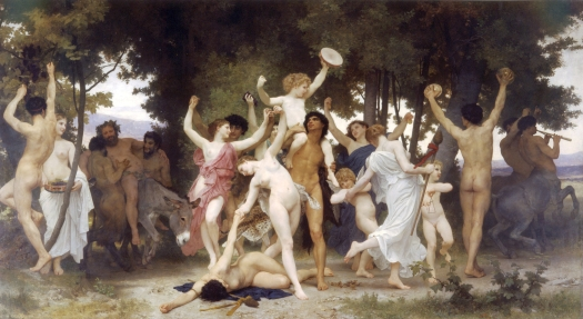 The Youth of Bacchus 1884 William Adolphe Bouguereau