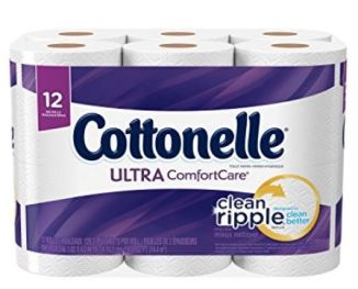 A PIN cottonelle ultra comfort care clean ripple clean better