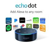 A PIN Echo Dot 2nd Generation Black