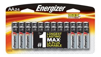 A PIN energizer max premium AA batteries Alkaline Double A 24 count