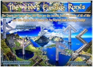 Elder Futhark Runes Silver 24k Gold Expensive
