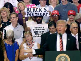 president trump blacks for trump 1