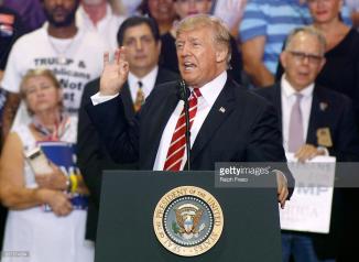 president trump rally phoenix arizona getty images