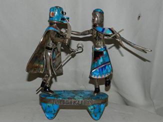 Priest Killer Kachina Native American Statue