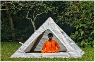 pyramid giza spiritual tent
