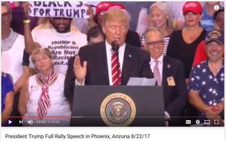 Trump Phoenix Rally Speech 8-22-2017