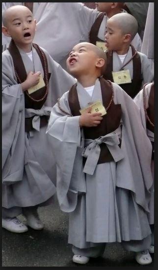zen korean child monk buddhism