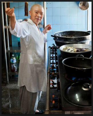 zen korean nun cooking