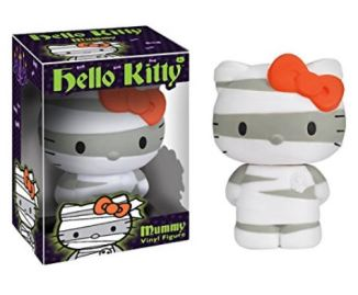 A PIN Funko Hello Kitty Halloween 5 inch vinyl figure mummy