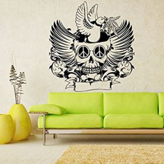 A PIN halloween wall sticker mural