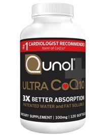 Amazon Qunol Ultra 100mg CoQ10 3
