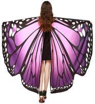 halloween butterfly shawl 2