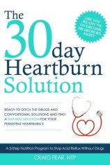 Heartburn Solution Book Cover
