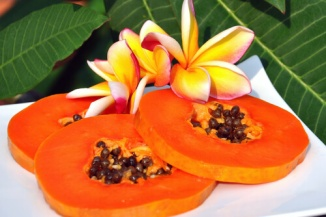 papaya photograph