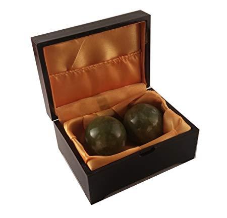 09 Boading Balls Chinese Health Exercise Stress Balls Helu Jade