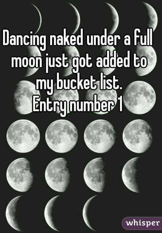 DANCING UNDER FULL MOON MEME